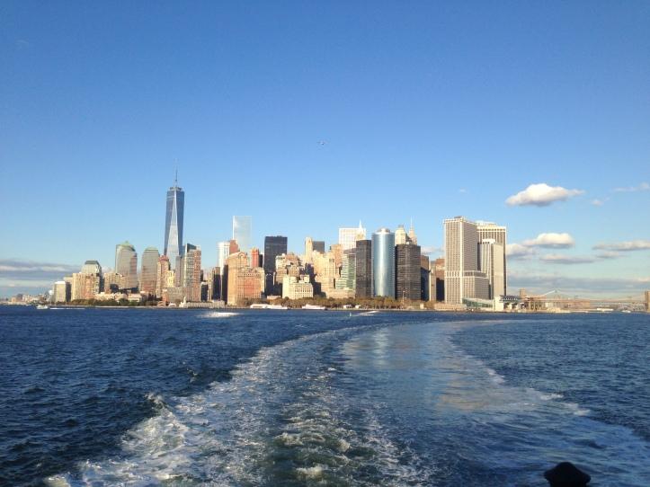 Vue de Manhattan à partir du Staten Island Ferry-3