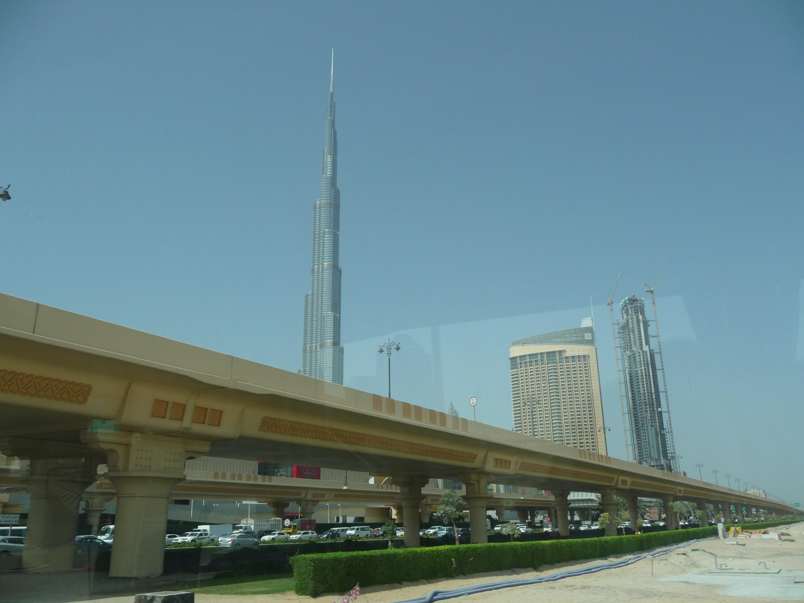 burj Khalifa de jour photo 2