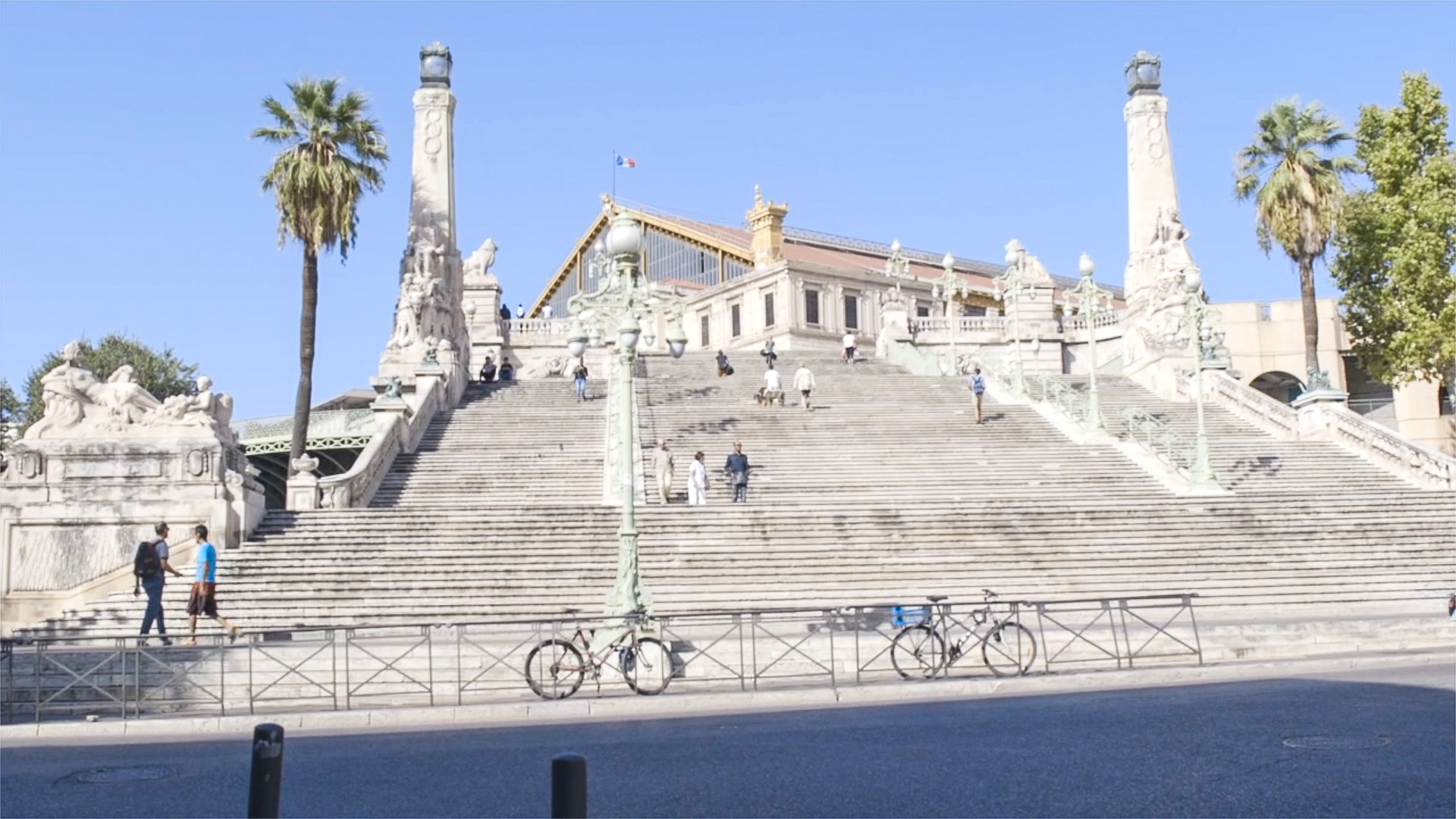 Volée de marches somptueuses à Marseille