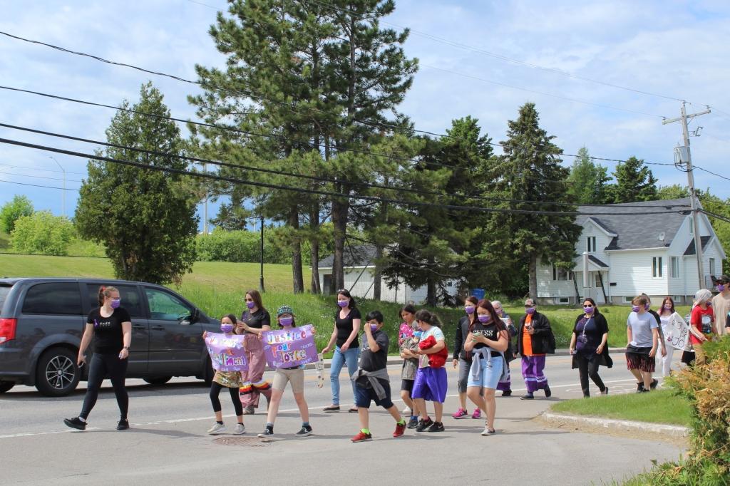 Photo illustrant la marche La Justice pour Joyce Echaquan
